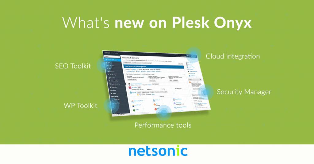 Plesk Onyx 17.8 Update Photo
